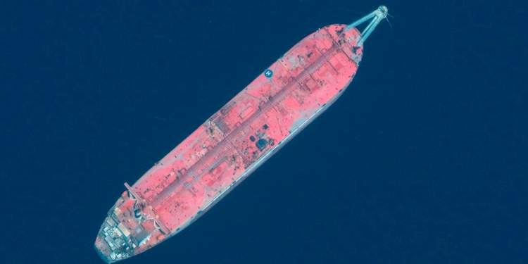 Decaying Yemen Oil Tanker at Risk of Spilling Into Red Sea