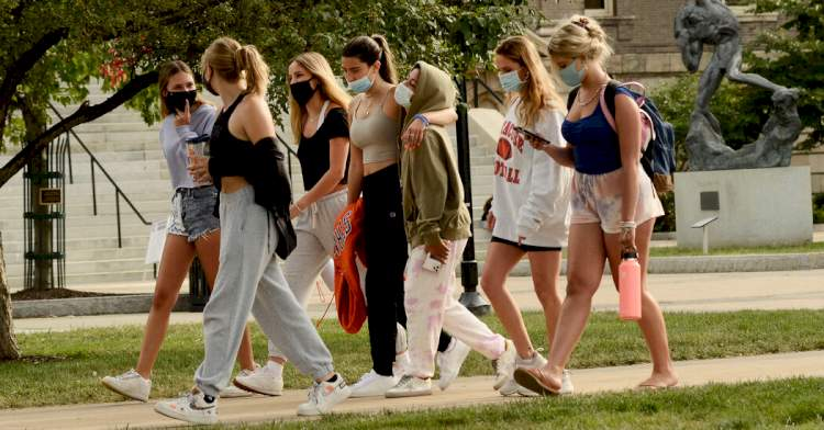 Off-campus trips and parties are fueling a spike at Syracuse University, officials say.