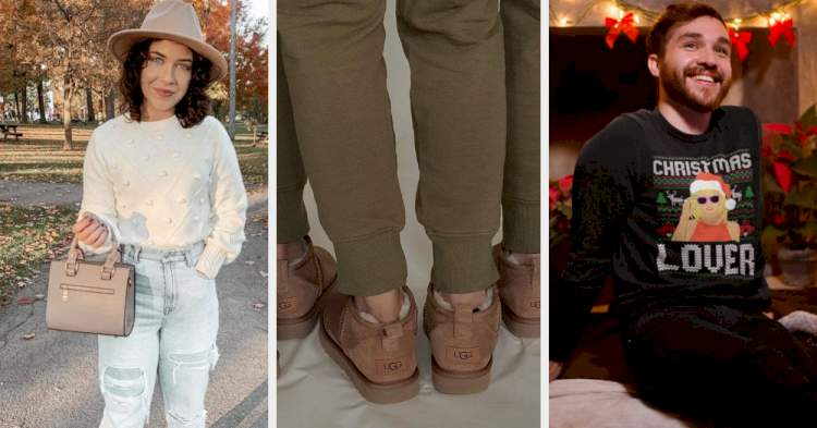 36 Comfortable Things You Might As Well Wear For The Holidays This Year