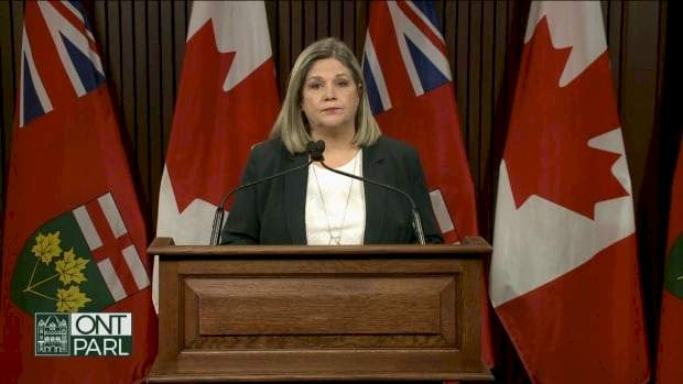 Ford rejects calls to apologize after comparing Horwath's criticism to 'nails on a chalkboard'
