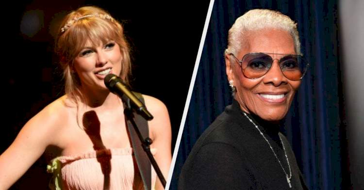 Dionne Warwick Reacting To Hearing Taylor Swift's New Version Of