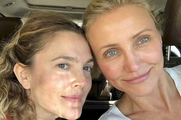 Cameron Diaz Surprised Drew Barrymore For Her Birthday And Then Revealed Their Hilarious Nicknames For Each Other