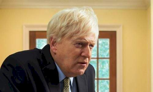 Picture of Kenneth Branagh as Boris Johnson for upcoming series released